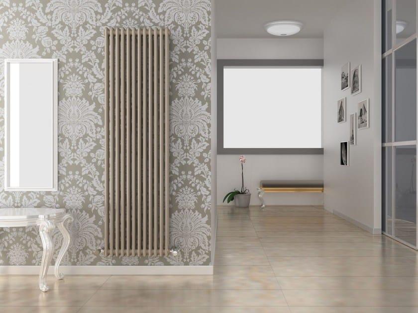 Radiatore a parete ad acqua calda ardesia cordivari for Radiatori d arredo prezzi