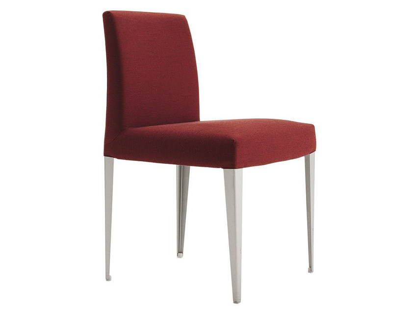 Upholstered fabric chair MELANDRA | Chair - B&B Italia