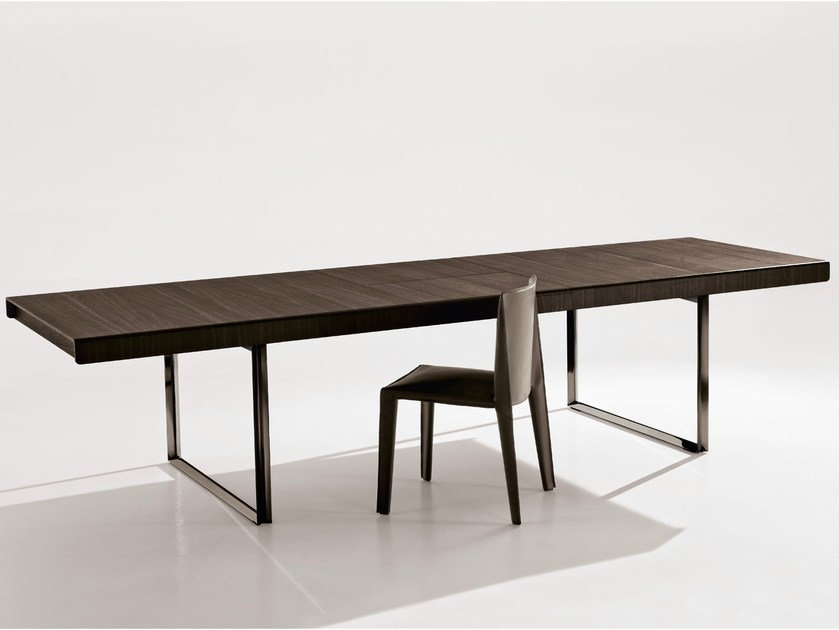 Extending rectangular table athos 2012 by b b italia - B b italia athos dining table ...