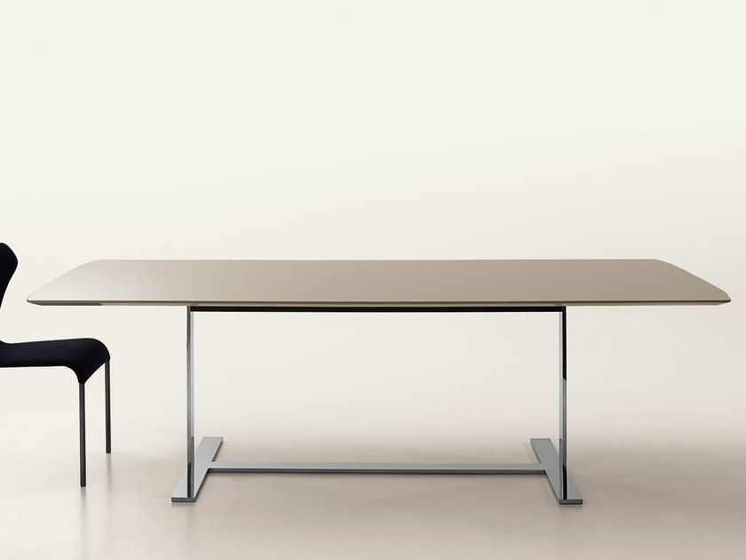 Lacquered rectangular table EILEEN | Table - B&B Italia