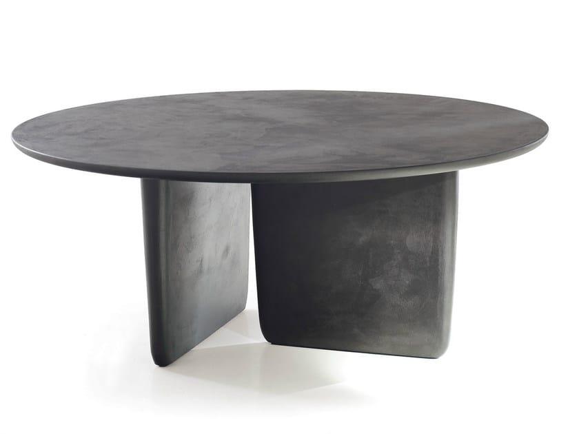 Round MDF table TOBI-ISHI | Round table - B&B Italia