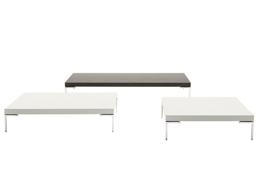 Low rectangular coffee table CHARLES | Coffee table - B&B Italia