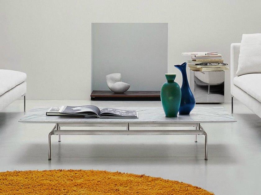 Low rectangular marble coffee table DIESIS | Coffee table - B&B Italia