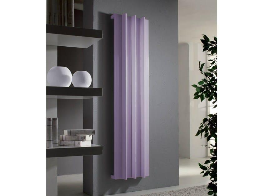 Vertical aluminium decorative radiator ROADS - CORDIVARI