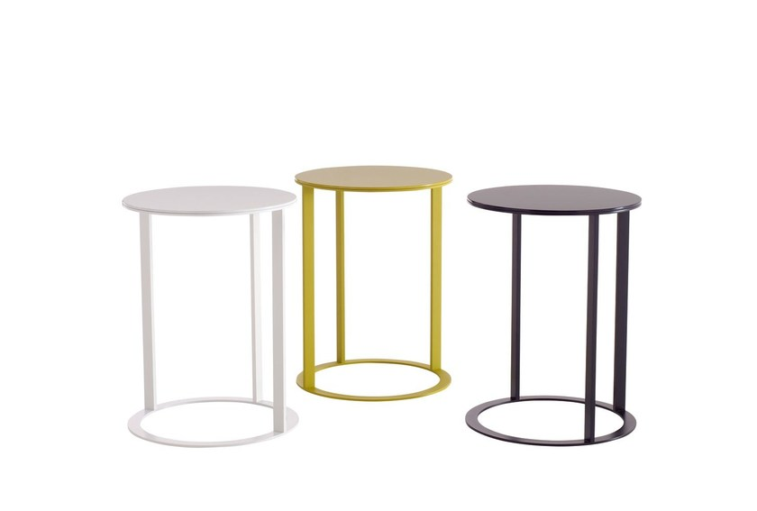 Round coffee table FRANK   Coffee table - B&B Italia