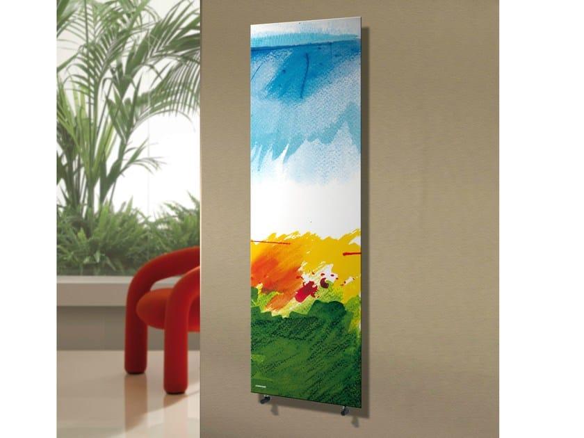 Hot-water vertical panel radiator FRAME SEASON - CORDIVARI