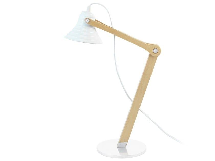 Direct light adjustable desk lamp TEKTON  DL by ENVY