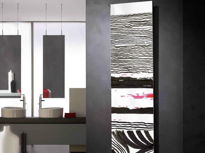 Powder coated steel decorative radiator FRAME ARTIC - CORDIVARI