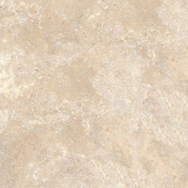 Pavimento effetto pietra PIETRE NATURALI │ Travertino Chiaro - ARIOSTEA