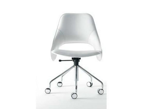Swivel task chair with 5-Spoke base TENDER S | Task chair - ITALY DREAM DESIGN - Kallisté