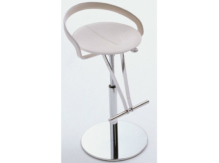 Height-adjustable swivel stool CAYMAN by Italy Dream Design