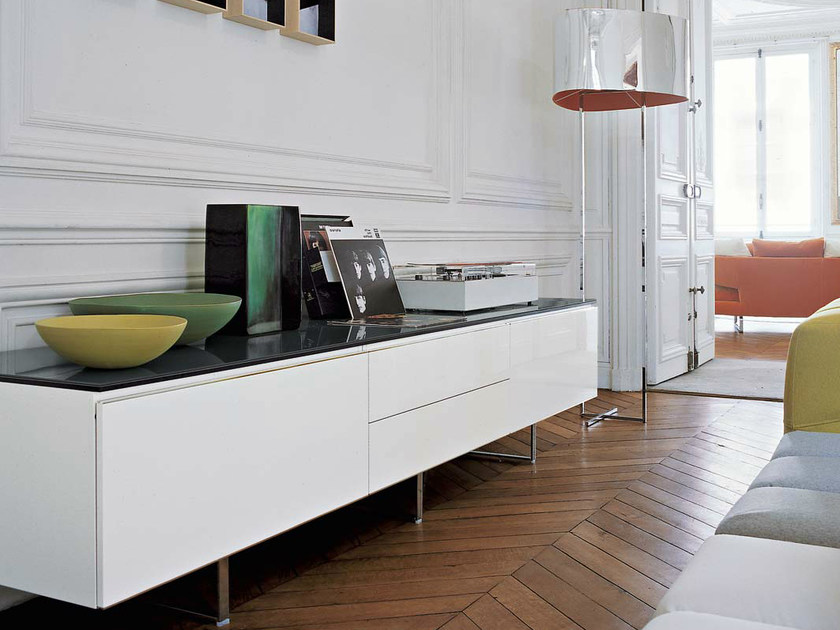 Sideboard with doors with drawers PAB | Sideboard by B&B Italia