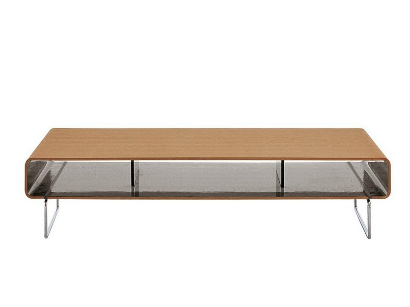 Low rectangular coffee table ARNE | Low coffee table by B&B Italia