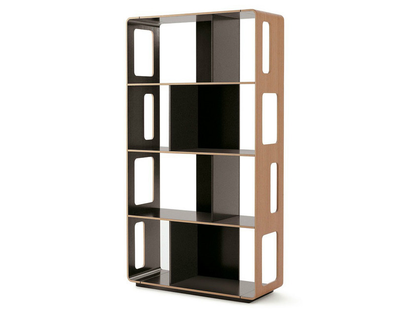 Open double-sided bookcase ARNE | Bookcase - B&B Italia
