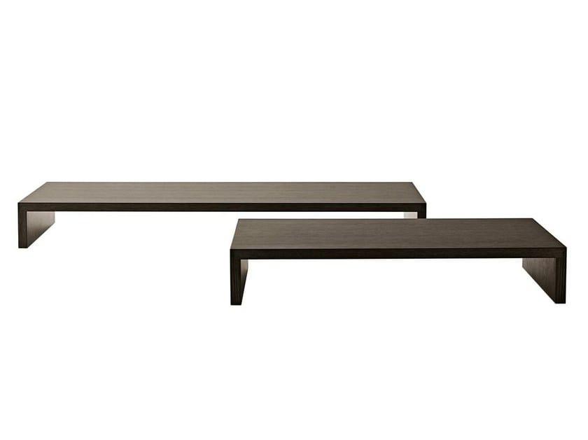 Low rectangular honeycomb coffee table PAB | Coffee table - B&B Italia