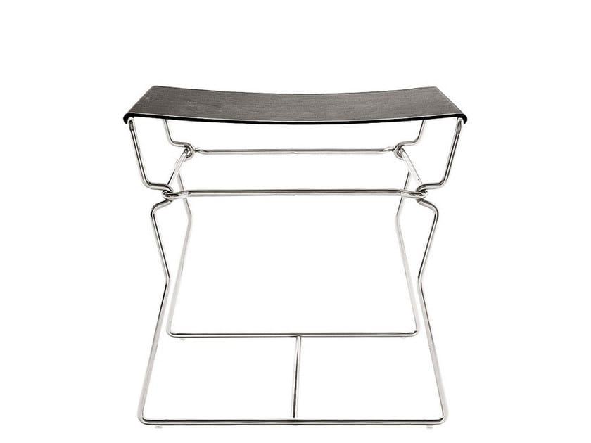 Leather stool / coffee table PYLLON | Stool - B&B Italia