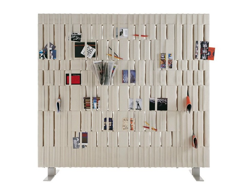 Felt room divider SOFTWALL by B&B Italia