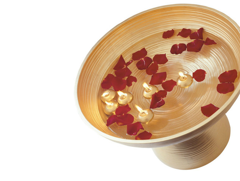 Ceramic serving bowl GOLD | Serving bowl by B&B Italia