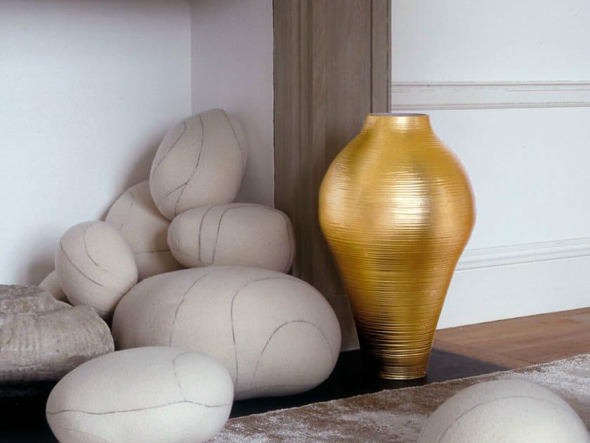 Ceramic vase GOLD | Vase - B&B Italia