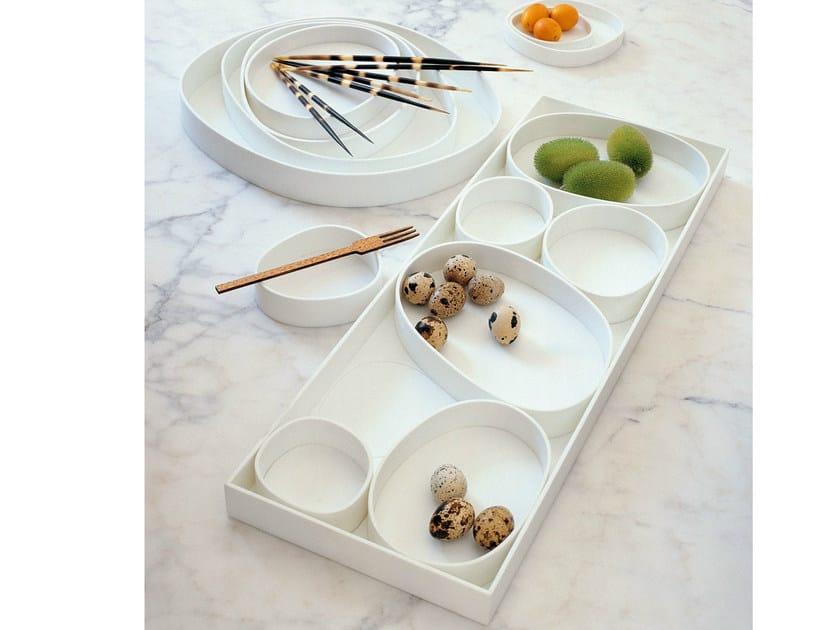 Corian® serving bowl VERTIGO by B&B Italia