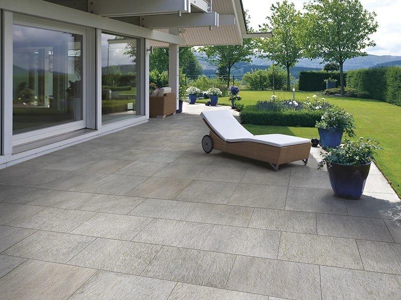Porcelain stoneware outdoor floor tiles PAVÉ QUARZ OUTDOOR by Sichenia