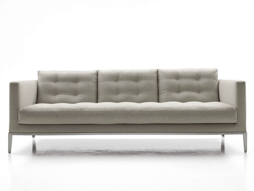 3 seater tufted fabric sofa AC LOUNGE | Sofa by B&B Italia Project