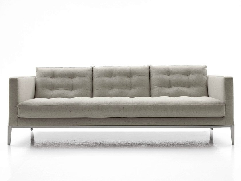 3 seater tufted fabric sofa AC LOUNGE | Sofa - B&B Italia Project, a brand of B&B Italia Spa