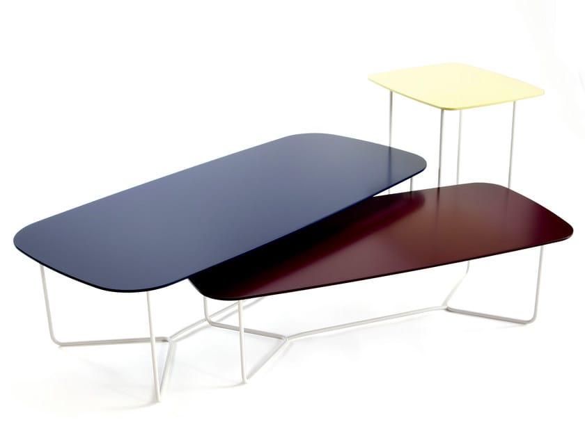 Low rectangular coffee table BONDO | Low coffee table - Inno Interior Oy