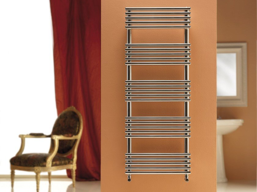 Electric stainless steel towel warmer SANDY by CORDIVARI
