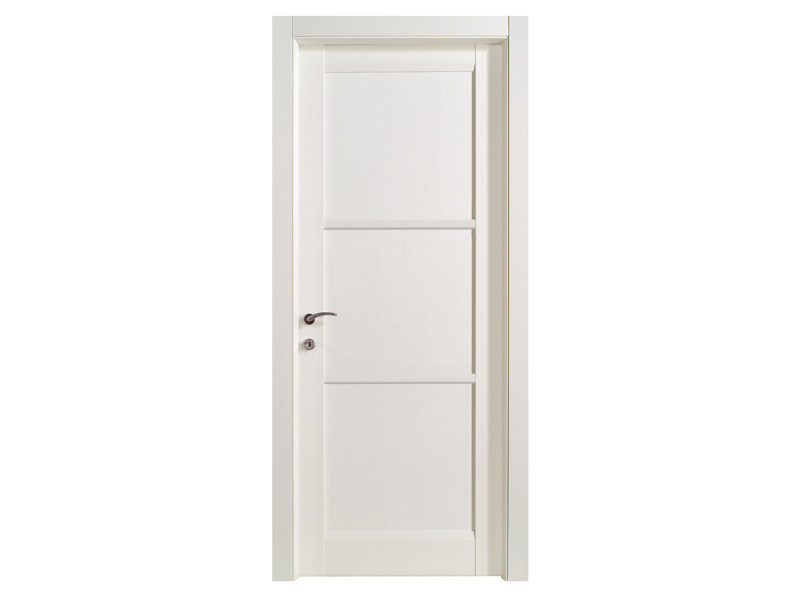 Hinged wooden door SYDNEY BLANK - Bertolotto Porte