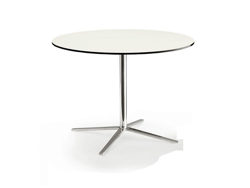 Round HPL table with 4-star base COSMOS | Round table by B&B Italia Project