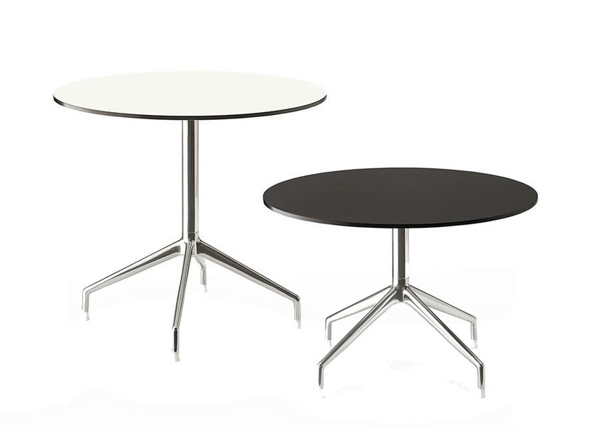Round HPL contract table SINA | Round table - B&B Italia Project, a brand of B&B Italia Spa