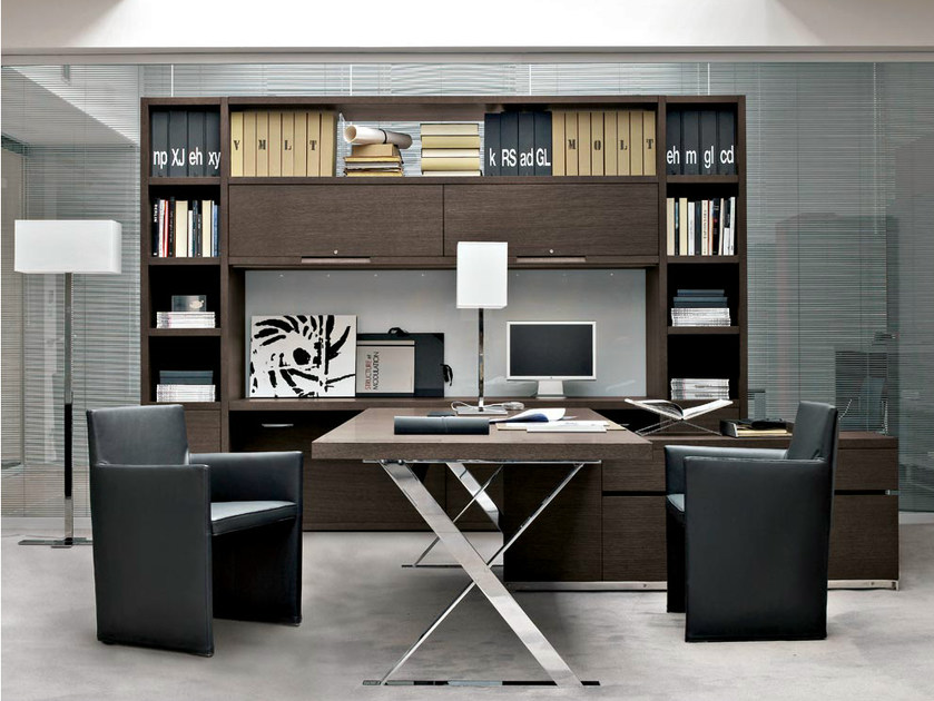 Tall office shelving AC EXECUTIVE | Office shelving by B&B Italia Project