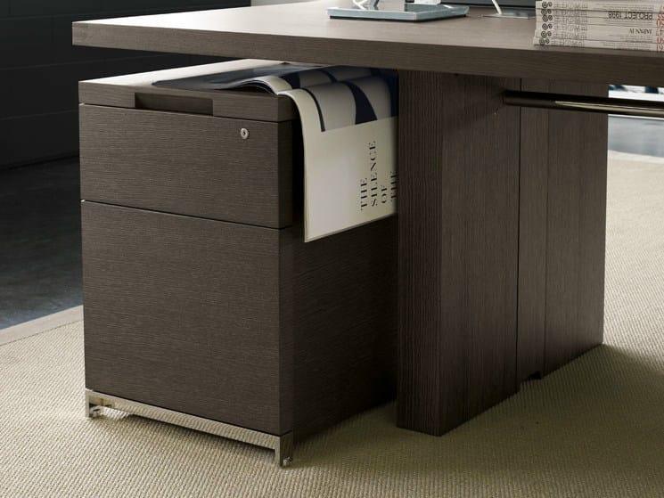 Office drawer unit AC EXECUTIVE | Wooden office drawer unit - B&B Italia Project, a brand of B&B Italia Spa