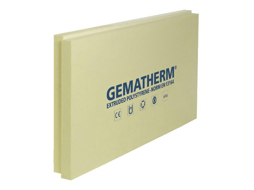 XPS thermal insulation panel GEMATHERM® X7 - SIRAP INSULATION