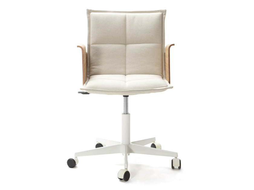 Task chair with 5-Spoke base with armrests LAB Z | Chair with armrests by Inno