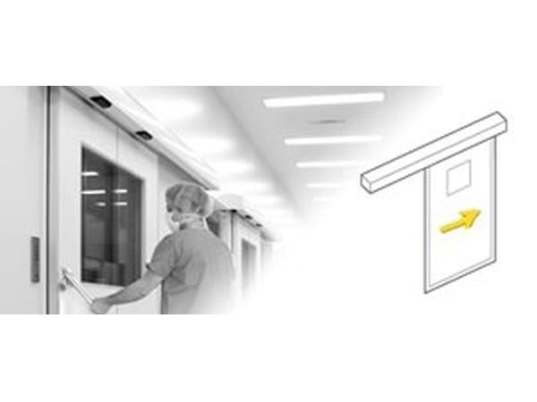 Automatic hermetic sliding door Hermetic (SLX-D) by Gilgen Door Systems