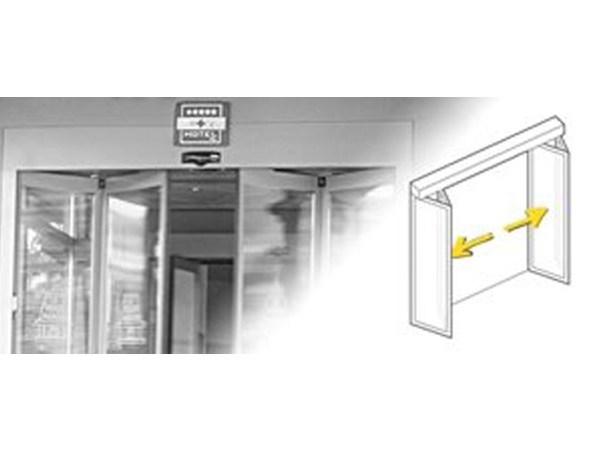 Automatic folding door Folding (FFM) - Gilgen Door Systems
