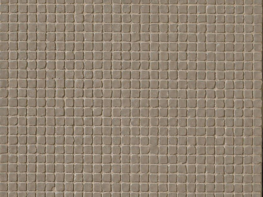 Porcelain stoneware mosaic DECHIRER GLASS ECRU' - MUTINA