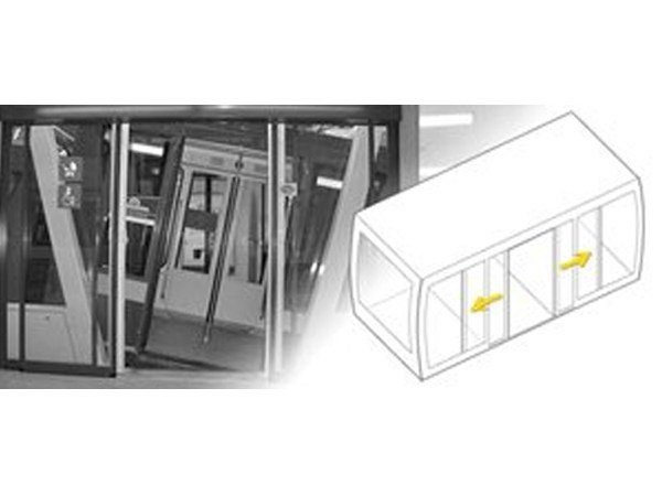 Automated swing door drive unit Special (CMS) - Gilgen Door Systems