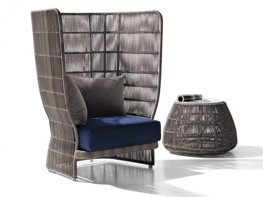 High-back polyethylene garden armchair CANASTA '13 | Garden armchair - B&B Italia Outdoor, a brand of B&B Italia Spa