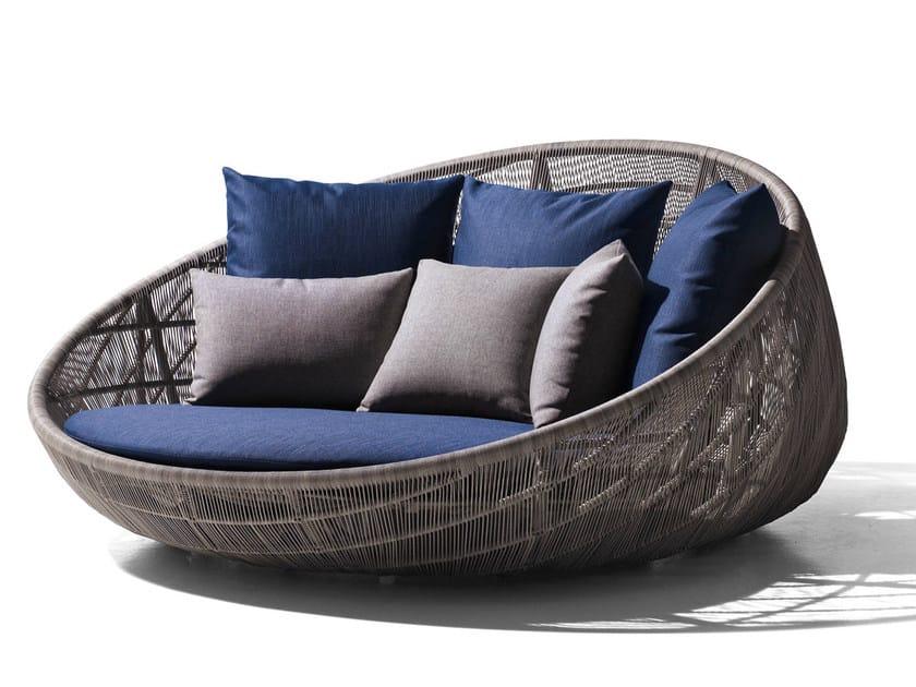 Polyethylene garden sofa CANASTA '13 | Sofa - B&B Italia Outdoor, a brand of B&B Italia Spa