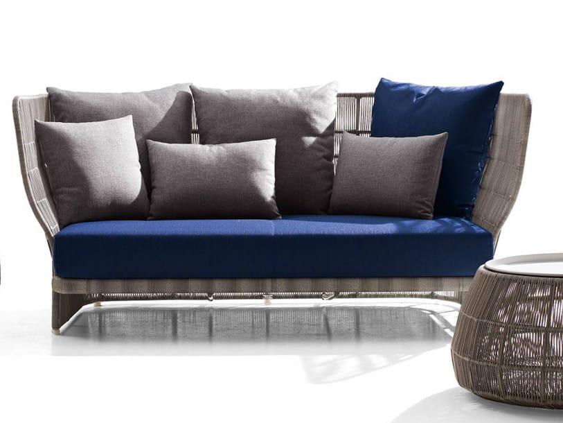 Polyethylene garden sofa CANASTA '13   Garden sofa - B&B Italia Outdoor, a brand of B&B Italia Spa