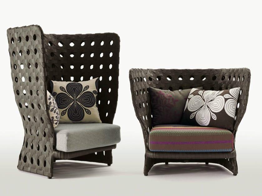 canasta poltrona da giardino by b b italia outdoor a. Black Bedroom Furniture Sets. Home Design Ideas