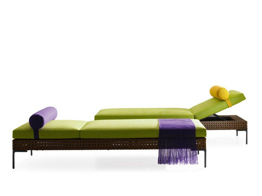 Polypropylene garden daybed CHARLES OUTDOOR | Garden daybed by B&B Italia Outdoor