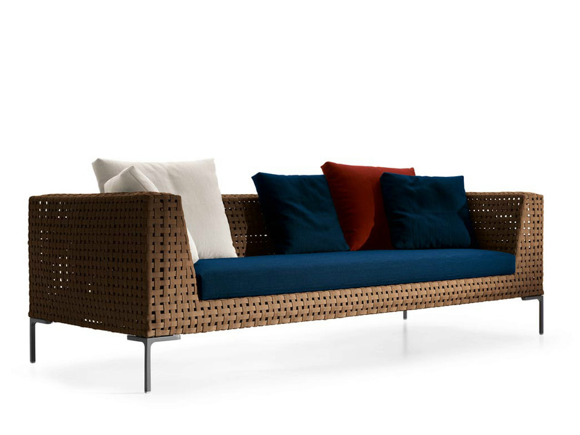 Polypropylene sofa CHARLES OUTDOOR | Sofa by B&B Italia Outdoor