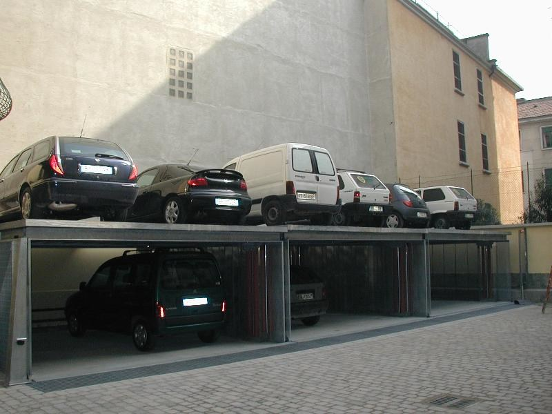 Automatic parking systems AS-1DP - CARMEC