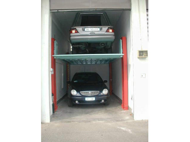 Automatic parking systems ACO-4 by CARMEC