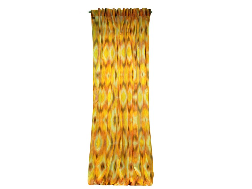 Printed Trevira® CS curtain MIAMI - LELIEVRE