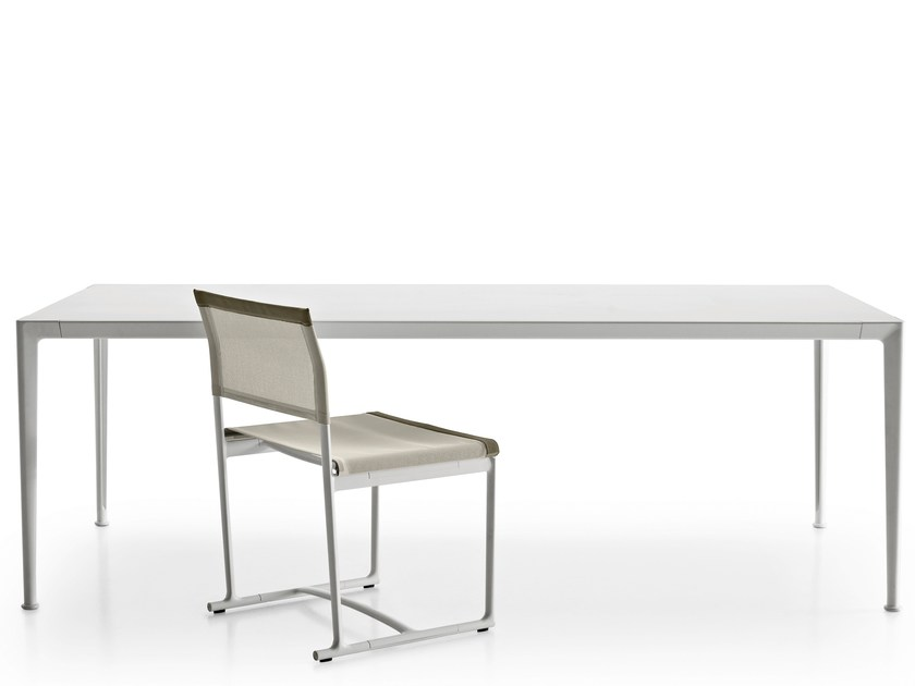Rectangular aluminium garden table MIRTO | Table - B&B Italia Outdoor, a brand of B&B Italia Spa